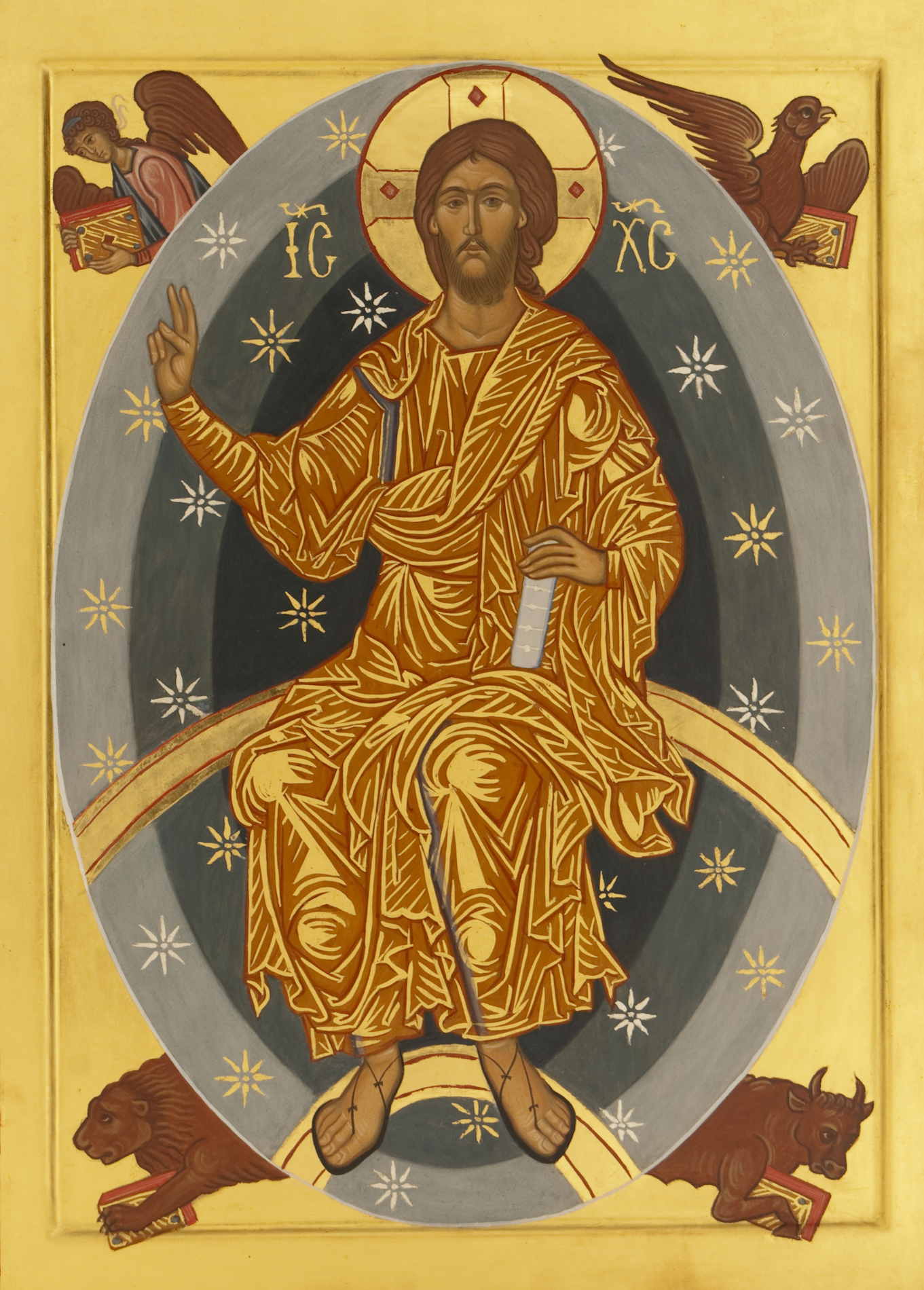Cristo in gloria